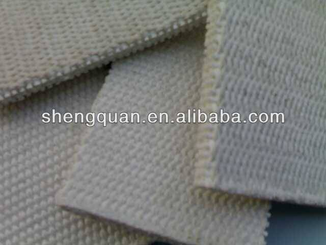 Shengquan air slide belt 100% polyester in bulk cement/canvas conveyor belt/transmission belt