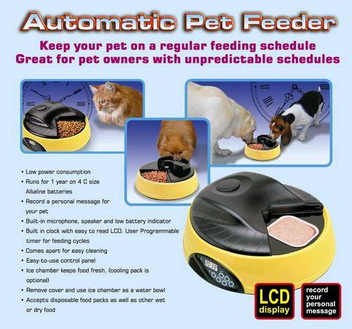 Auto pet feeder/ dog feeder