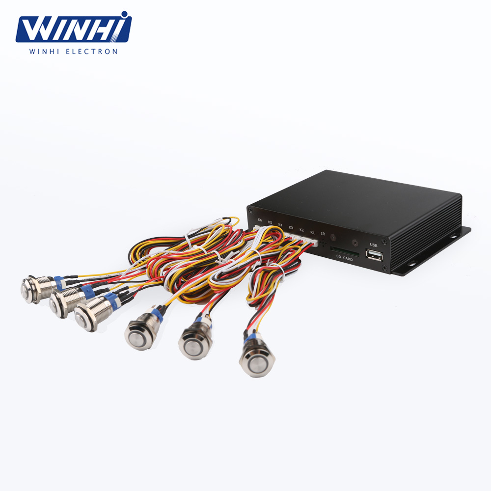Metal Shell Digital Signage Media Player Button Box - Ningbo