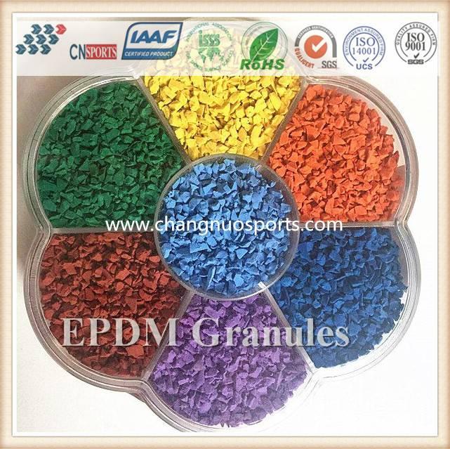 Colorful EPDM Rubber Granules