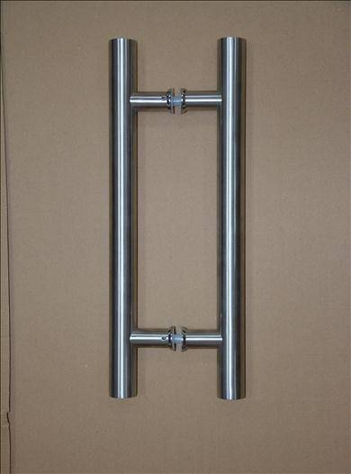 Modern Styling Round Bar/Ladder/H-Shape glass door,stainless steel pull handles