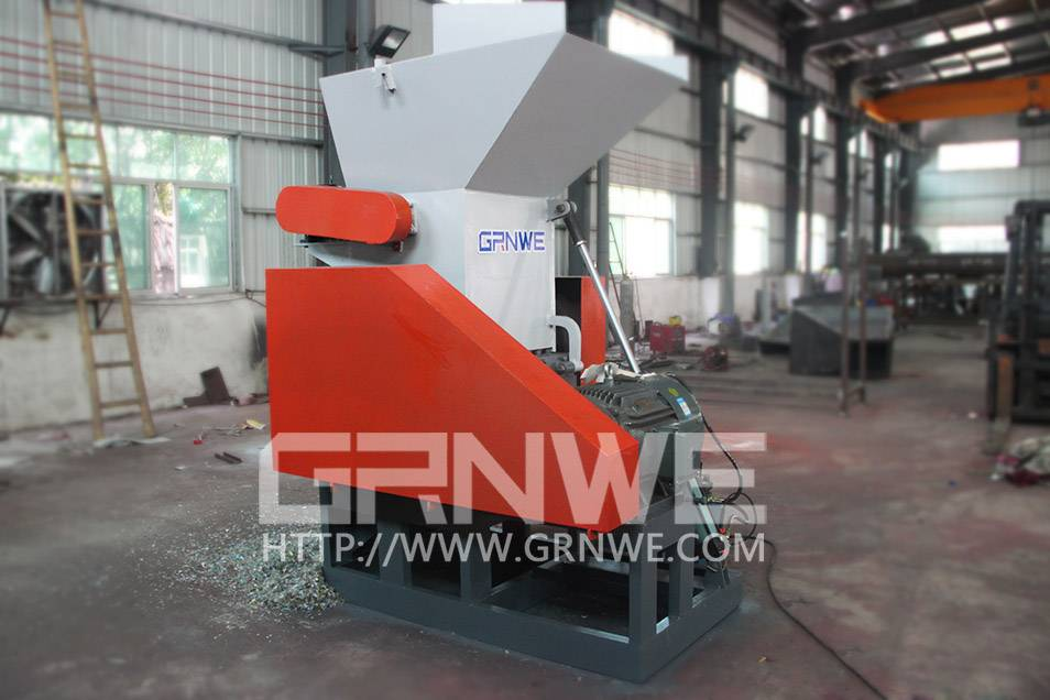 single shaft plastic crusher/ pe pp film grinder/ waste plastic film shredder