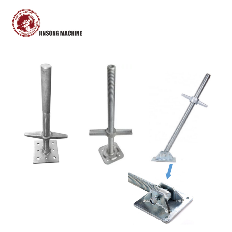 Scaffolding Pipe Screw Jack Base for Ringlock System