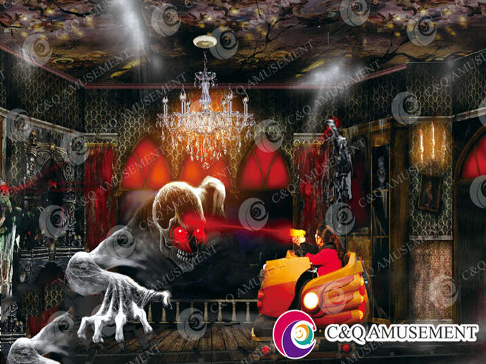 2017 New Design Shooting Dark Rides----XD-HUNTING GHOST