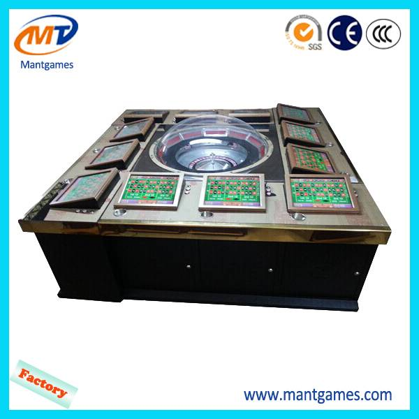 12 Players Metal Case Kingkong Electronic Roulette Table Game Machine for Casino MT-GA020