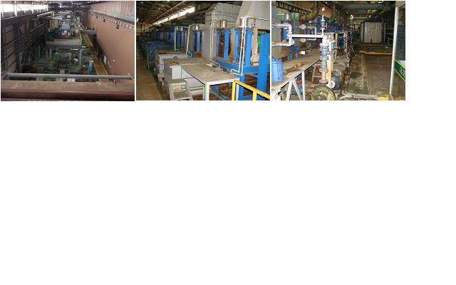 Used Electric Galvanizing Line ( EGL ) --1,270mm x 1,2mm x 150m / min