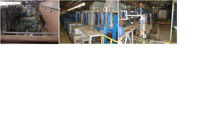 Used Electric Galvanizing Line ( EGL )--1,270mm x 1,2mm x 150m / min