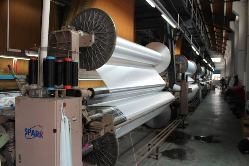 YC9000-340 Double Beam(Up and down) Air Jet Loom