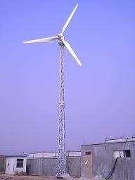 10kw Low Noise Pitch Wind Turbine
