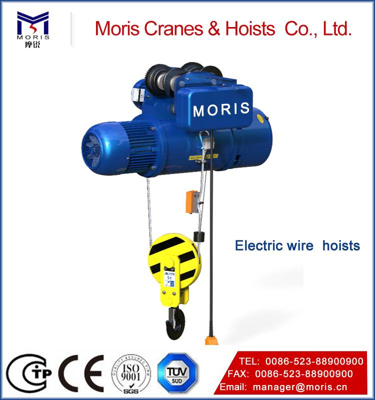 High quality Electric CDI Wire Rope Hoist