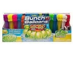 "ZURU Bunch O Balloons, Fill in 60 Seconds, 350 Water Balloons, 20"" Water Ball"