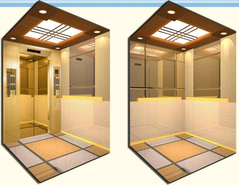 Shandong Sevator Passenger Elevator with Gearless Traction Machine