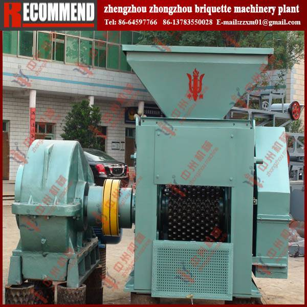 Large capacity ferrous dust briquette machine