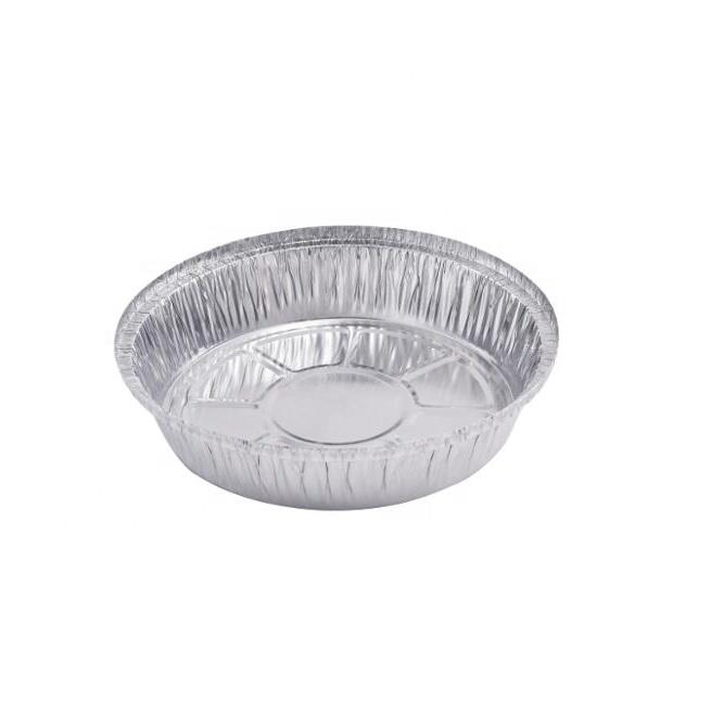 Disposable 8 inch Round Aluminum Foil Container