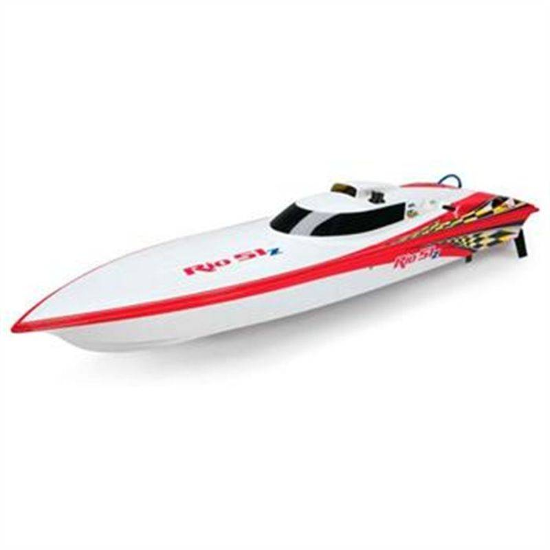 AquaCraft Rio 51Z Off Shore Gas Vee 2.4GHz w/Zenoah 26cc AQUB41
