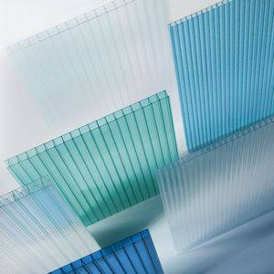 100% bayer material 10 years guarantee polycarbonate hollow sheet