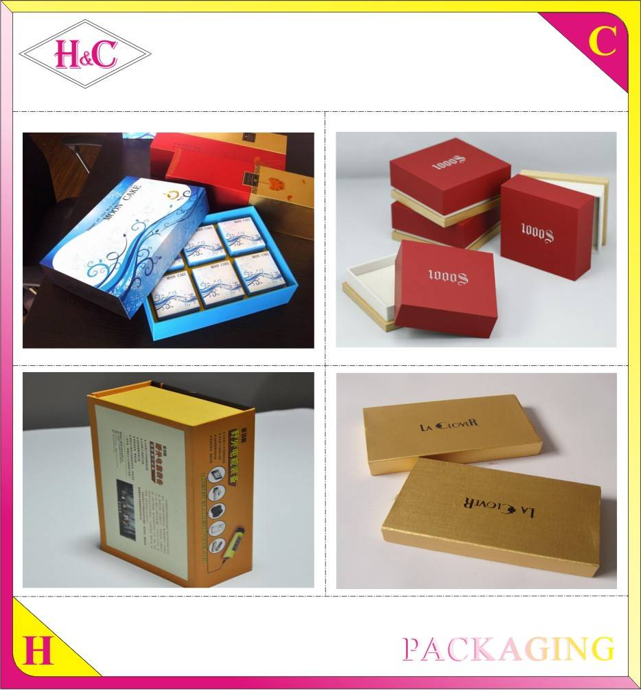 Custom wholesale high quality cardboard magnetic paper gift box