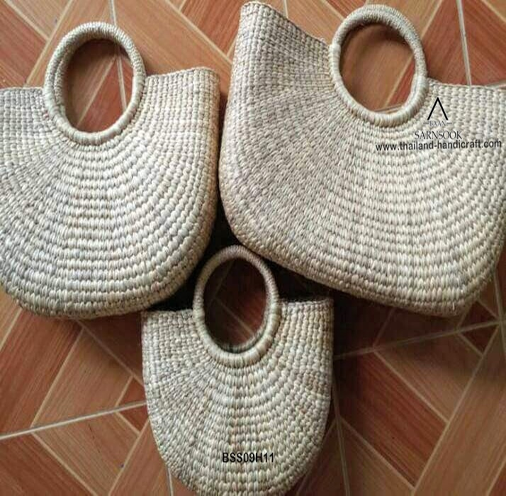 E-co Friends Naturals Water Hyacinth Hand Bags from Thailand