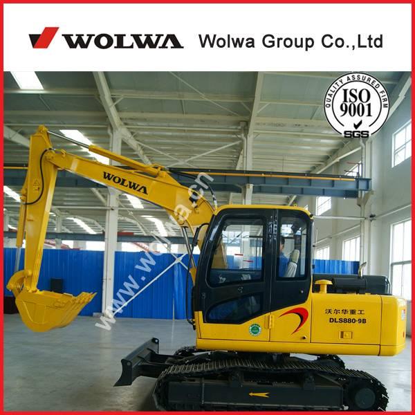 DLS880-9B crawler excavator with tracked excavator type