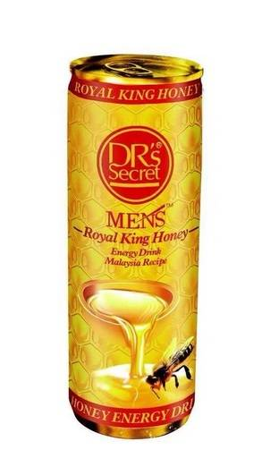 Drs Secret Men's Royal King Honey Energy Drink