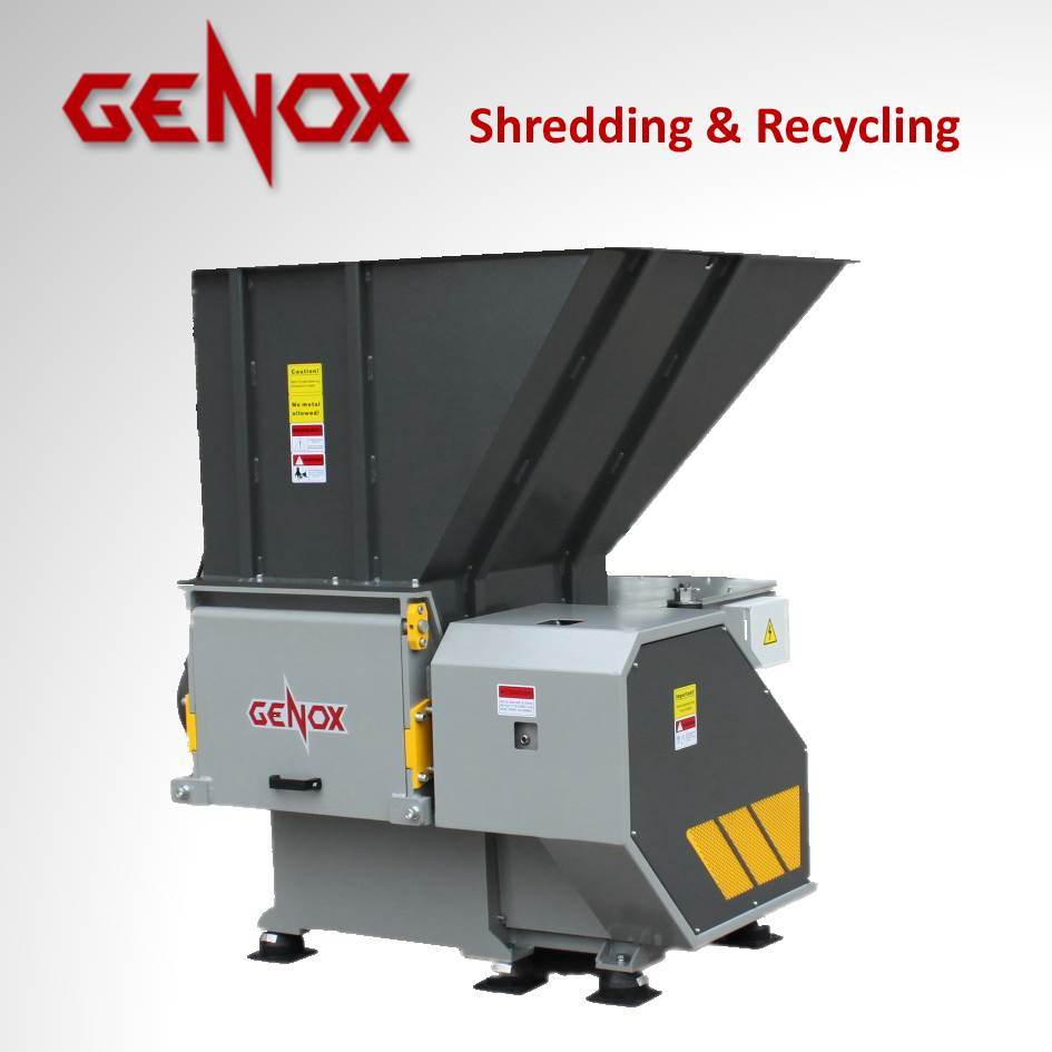 Single Shaft Shredder (V600) /Tire Recycling/Granulator/plastic machine