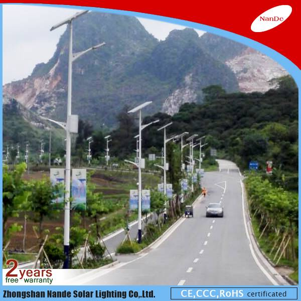 2016 Nande high quality solar street LED light