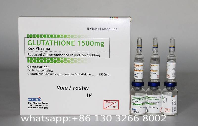1500mg glutathione injectable for skin whitening with high quality
