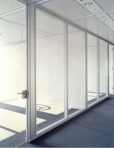Modern Glass Wall, Tempered Glass Wall Meeting Room, Modern Dividers Room