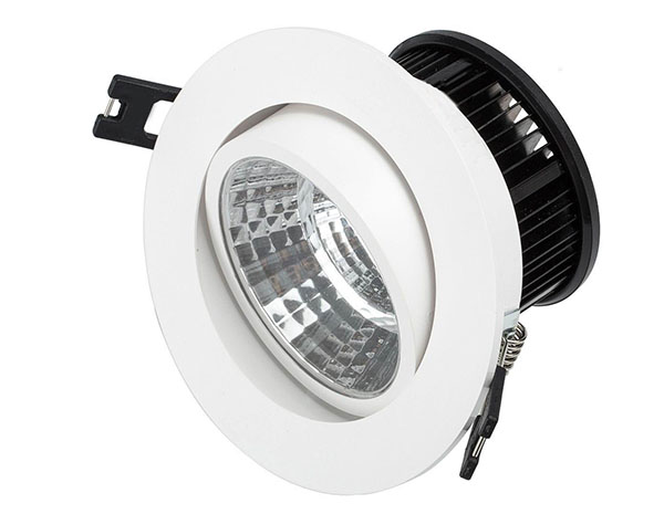 Aluminum adjustable 9w 15w dimmable recessed led downlight 5w low price cob led down light