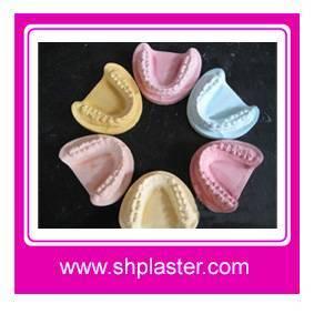 Dental plaster