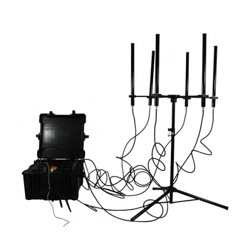 160W 4 to 8 bands High Power Drone Jammer up to 1000m