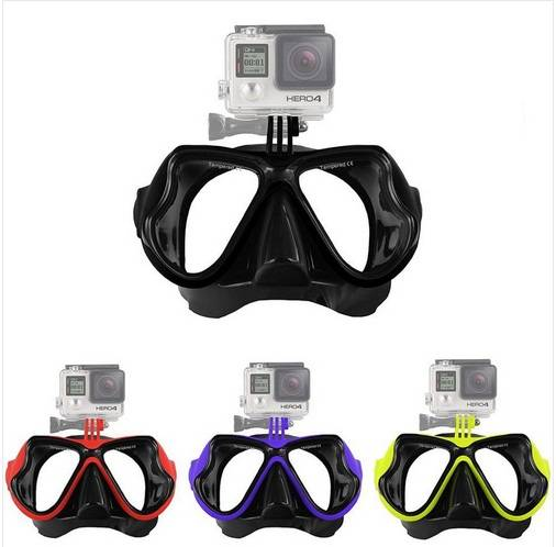 Gopro Scuba Diving Mask Silicone Tempered Glass Adult Diving masks