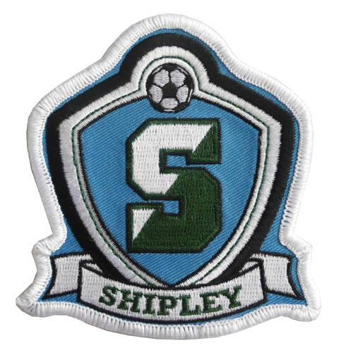 Shipley Nameplate Embroidery Patches