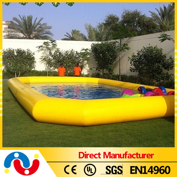 Best Quality TPU walking water ball pool Inflatable Above Ground Pool