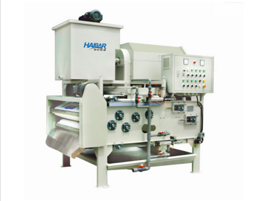 screw press dehydrator of slduge thickener and dewatering