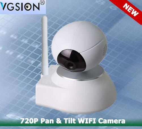 720P Pan & Tilt WIFI Camera