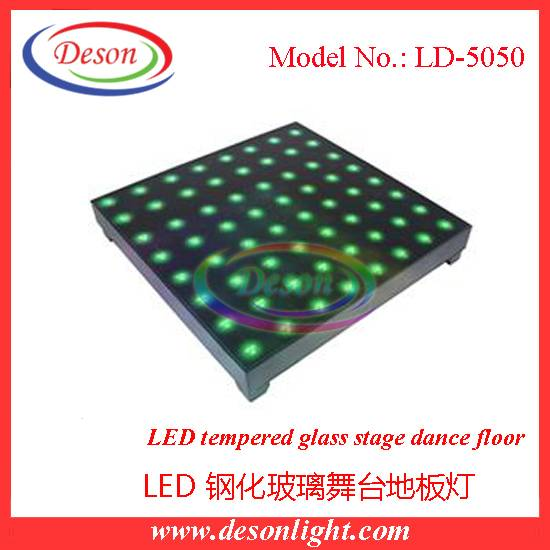 Professional LED glasses stage dance floor LD-5050