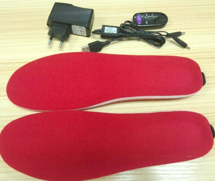 High Quality Fashion Design Electric Foot Warmer Battery Heated Insoles