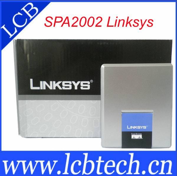 Linksys SPA2002 Analog telephone Adapter