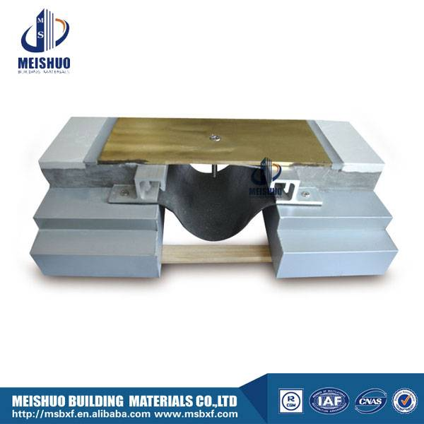 Building floor brass expansion joint material MSDGCP