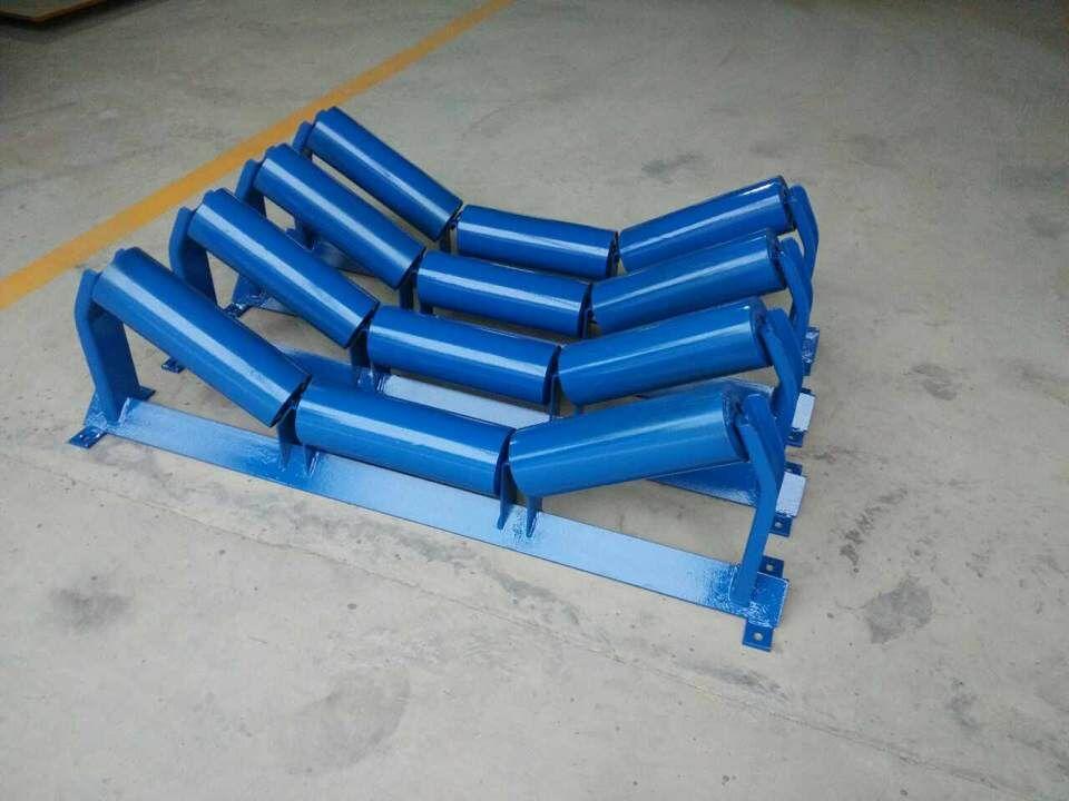 troughing roller station set