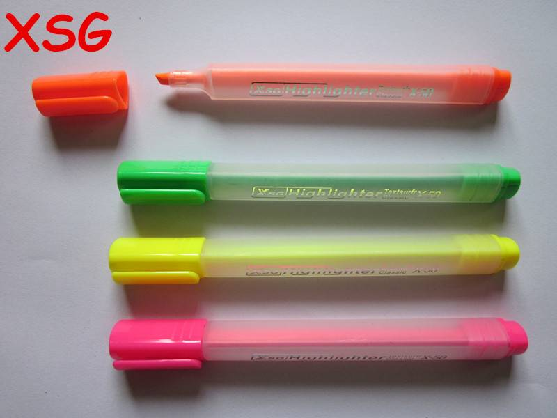 Triangle body highlighter pen X-50