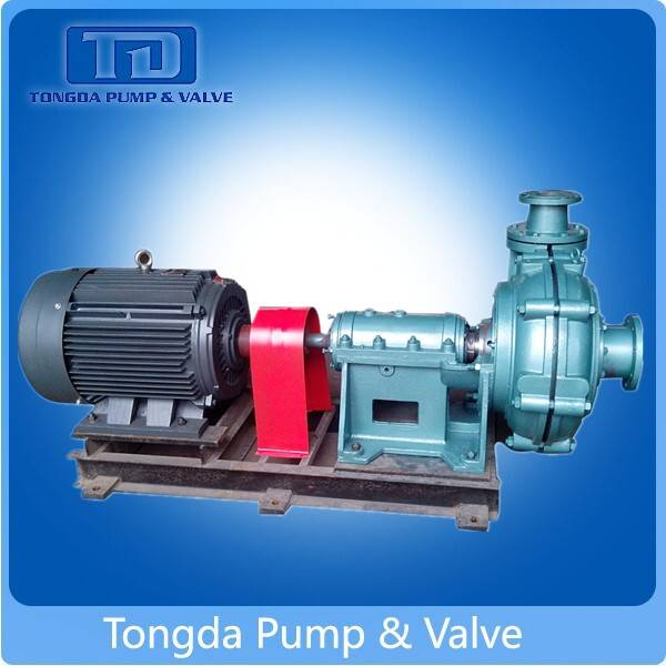 Rubber Lined High Chrome Centrifugal Slurry Pump