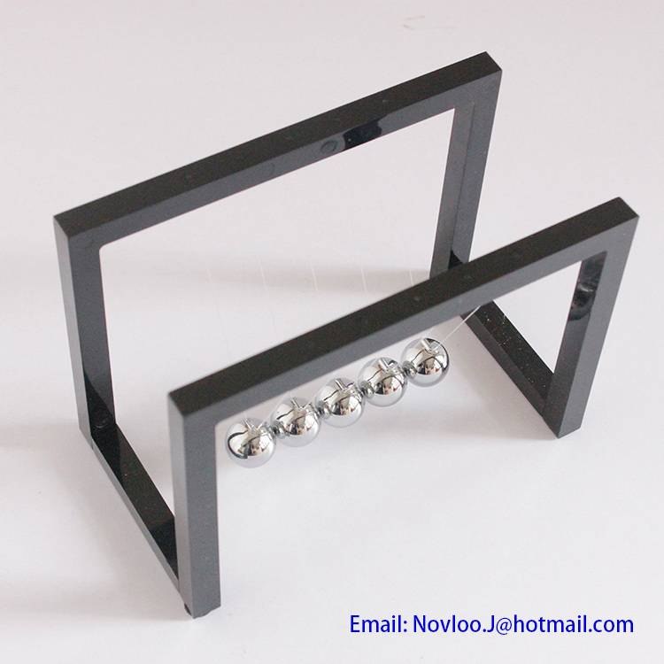 Newton's Cradle Steel Balance Balls Desk Physics Science Pendulum