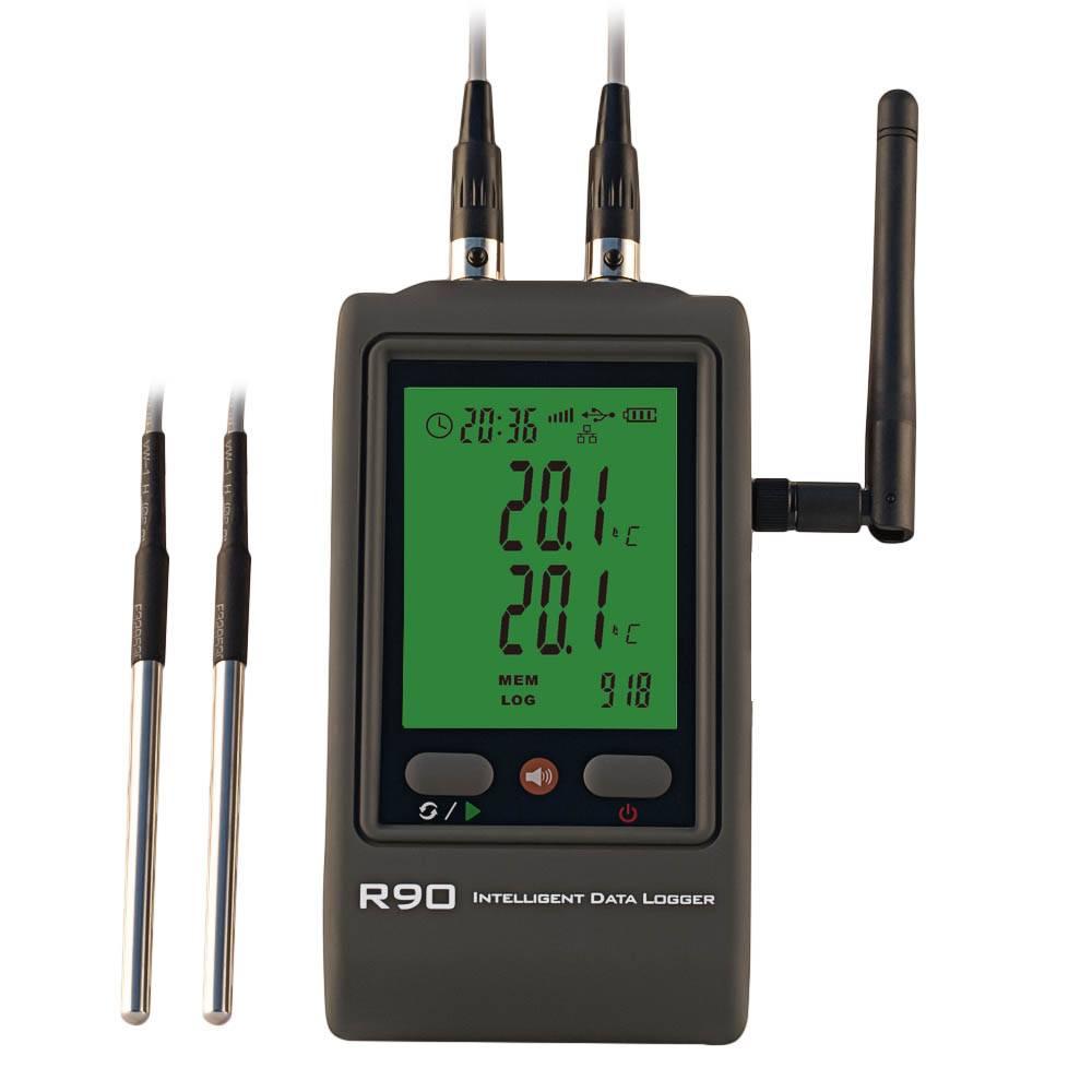 R90 wifi temperature logger wireless