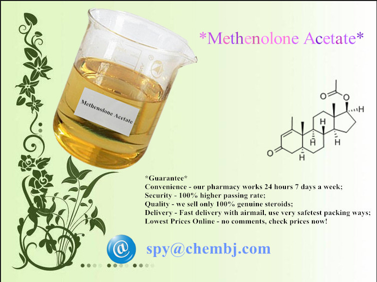 Methenolone Acetate; Primobolan Powder   CAS: 434-05-9