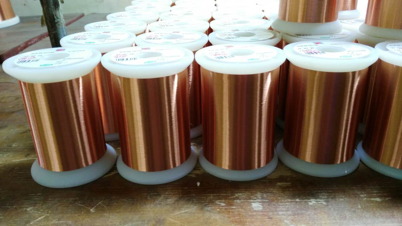 For transformers/lgnition coils UEW Insulation Polyureethane super fine enamelled copper wire