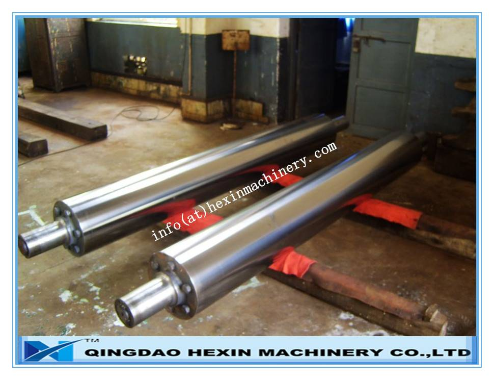 Main rollers, patterned roller, engraved rollers for glass rolling machine