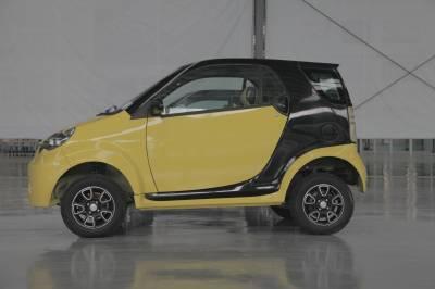 Mini Green Electric Car Small Automobile