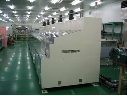 LCD Automatic cleaning and etching machine